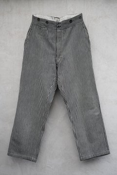 ~1930's striped cotton work trousers