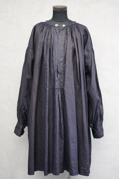 ~early 20th c. indigo linen smock