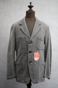 cir.1940's cotton pique work jacket dead stock