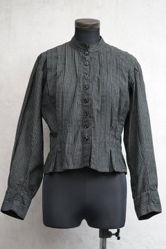 early 20th c. striped blouse
