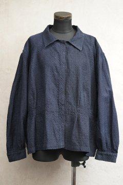 ~1930's navy blouse