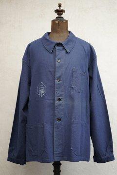 cir. mid 20th c. blue work jacket