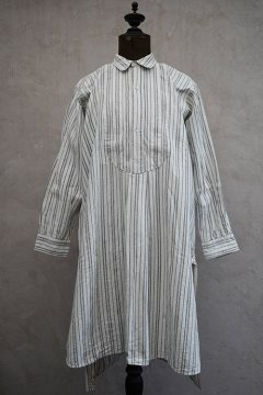 1910S-1930's striped white cotton shirt