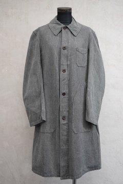 1930's-1940's salt&pepper Atelier coat