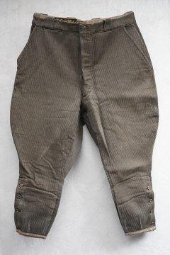 1940's brown pique jodphurs