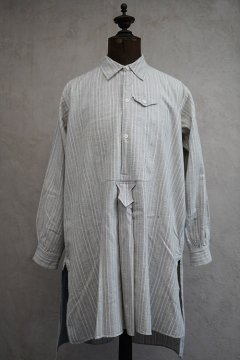 cir.1930's striped cotton shirt small pocket