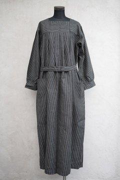 ~1930's striped cotton work dress