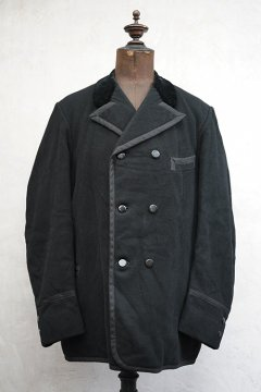 early 20th c. double breasted wool jacket