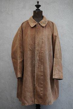 1920's-1930's brown linen coat