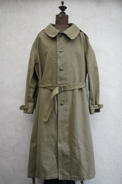 1950's M35 cotton motorcycle coat size 6 dead stock