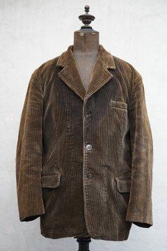 mid 20th c. brown corduroy jacket