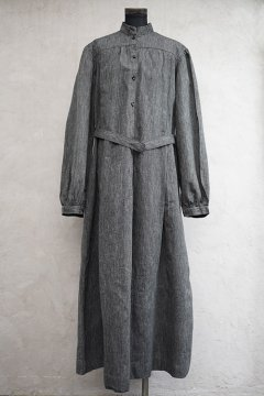 ~1930's chambray long dress