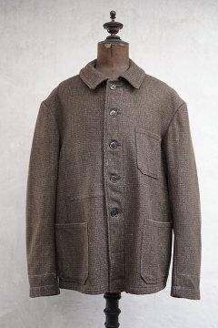 1940's-1950's brown wool work jacket