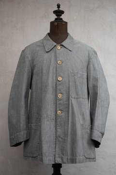cir.1930's -1940's gray herringbone work jacket