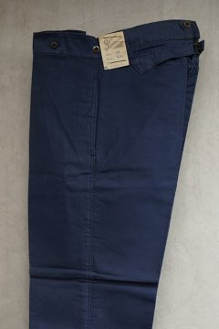 ~1940's blue moleskin work trousers dead stock