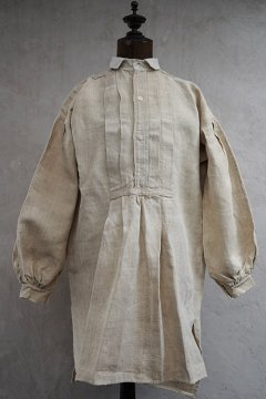 early 20th c. hemp shirt