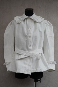 late 19th c. white jacket/blouse