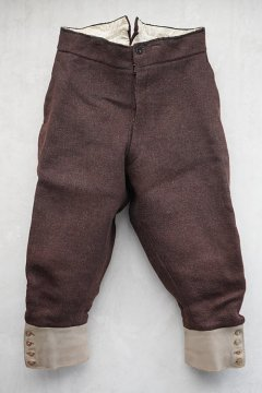~early 20th c.red brown wool jodphurs