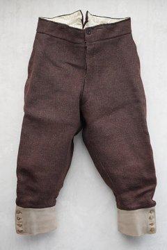 ~early 20th c.red brown wool jodhpurs