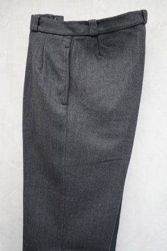 1940's gray wool trousers