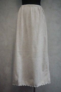cir.1930's beige wool skirt