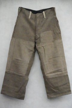 cir.1940's olive wool work trousers
