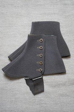 cir. 1930's gray gaiters