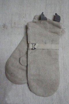 1930's-1940's linen mitten