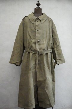 1940's M35 linen motorcycle coat with liner size1 dead stock