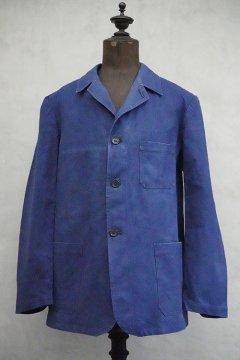 1940's-1950's blue cotton twill work jacket