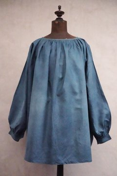 ~early 20th c. indigo linen smock