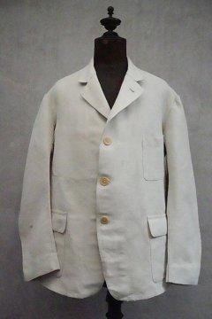 ~1930's ecru linen jacket