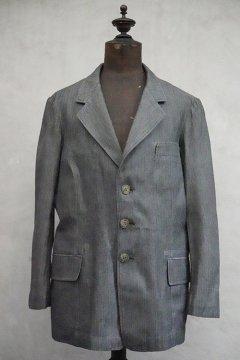 1930's-1940's herringbone cotton jacket dead stock