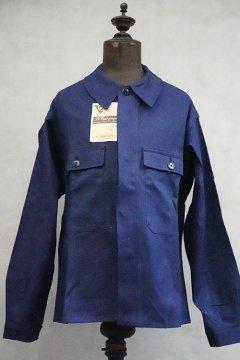 mid 20th c. blue twill work jacket