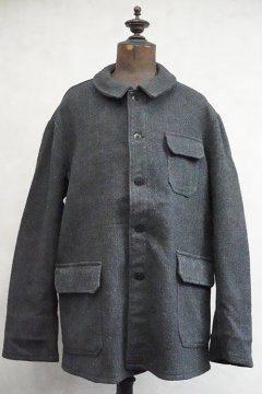 mid 20th c. gray wool work jacket