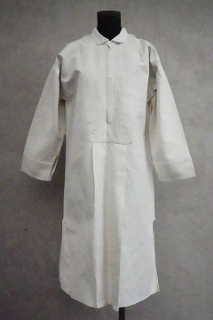 early 20th c. linen × cotton shirt