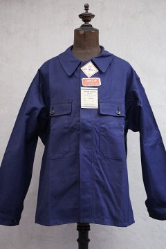 mid 20th c. blue cotton work jacket