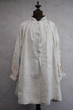 early 20th c. ecru linen smock