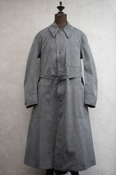 cir.1940's salt&pepper cotton atelier coat dead stock