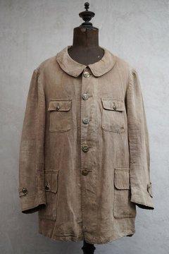 cir. 1920's-1930's linen hunting jacket