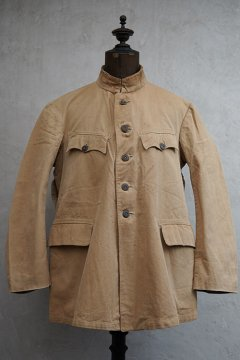 cir. 1920's-1930's cotton hunting jacket