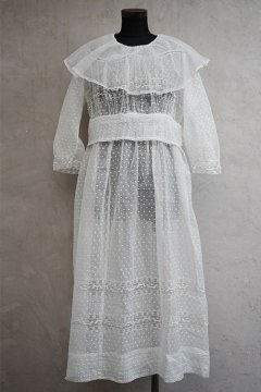 early 20t c. white dress