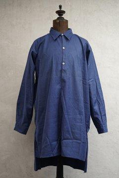 1930's-1940's blue cotton shirt dead stock