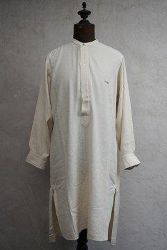 cir. 1930's-1930's cream silk cotton shirt