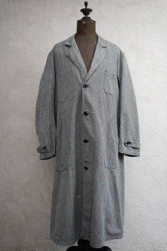 1940's-1950's salt&pepper atelier coat