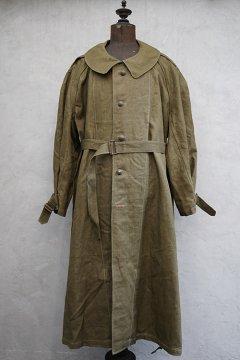 1940's M35 linen motorcycle coat size2 dead stock