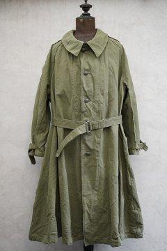 1950's M35 linen cotton motorcycle coat size 6 dead stock