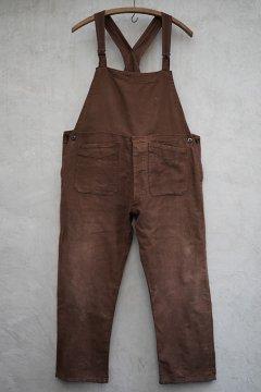 1930's-1940's brown salopette