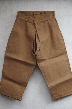 cir.1940's linen overpants dead stock