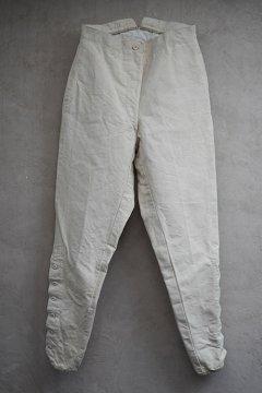 ~1930's linen cotton fencing pants